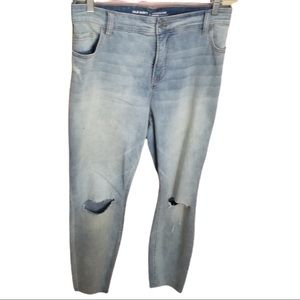 Old Navy ripped knee Light Wash jeans